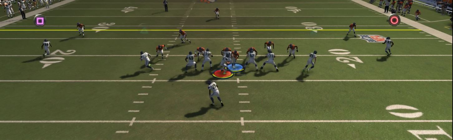 Madden 15 Turbo Blitz Easy Sack Defense (PS4 XB1)