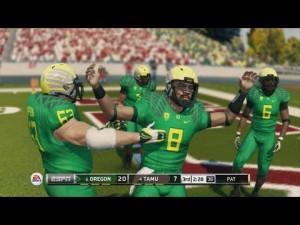 NCAA 14 Football Glitches