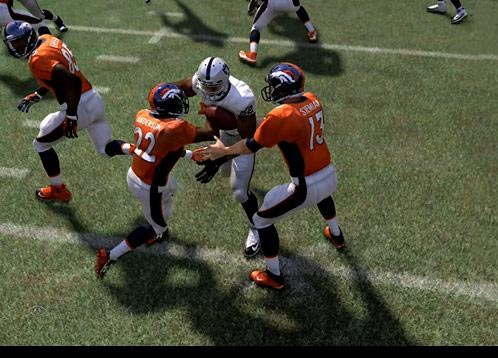 Madden screen shot