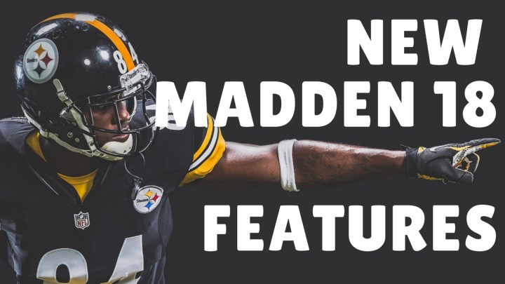 New Madden 18 Features