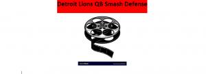 Lions QB Smash & lockdown defense